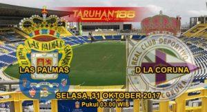 Prediksi Bola Las Palmas vs La Coruna 31 Oktober 2017